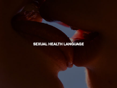 Sexual health language